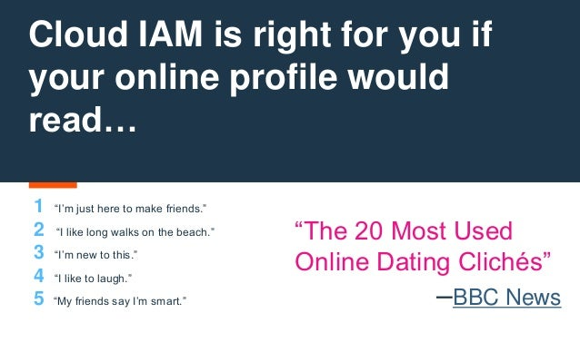 Dating Profile Cliches Long Walks On The Beach