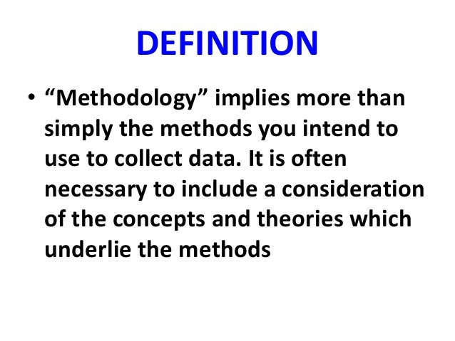 INTRO TO RESEARCH METHODOLOGY