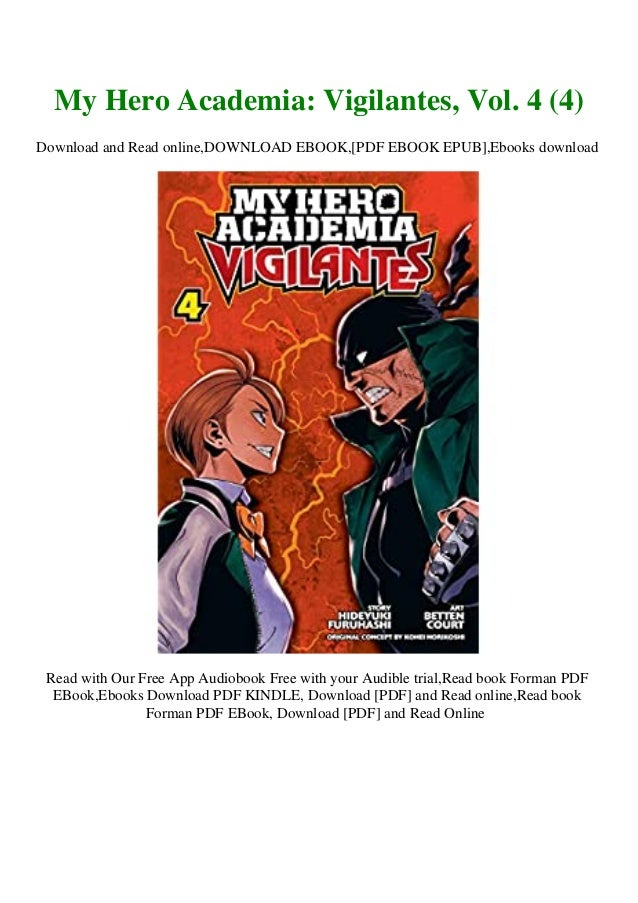 My Hero Academia: Vigilantes, Volume 4 PDF Free Download