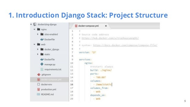 django project structure Django is a python framework that allows you to get a fully functioning web app  up  last, but not least, i really like django's project structure.