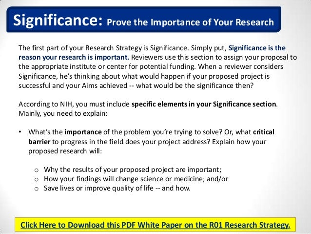 R01 Research Strategy Insider Tips To Ace The Most