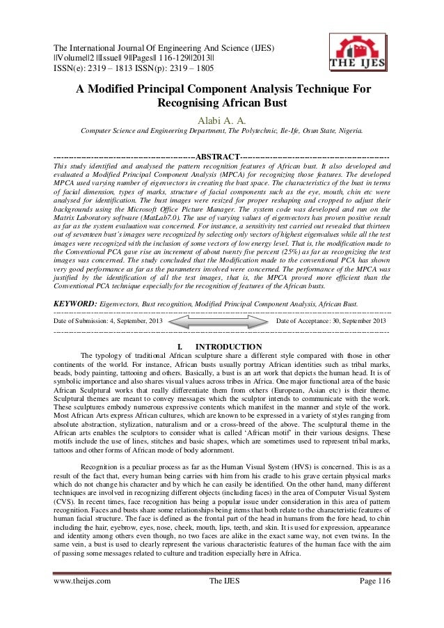 The International Journal Of Engineering And Science (IJES) ||Volume||2 ||Issue|| 9||Pages|| 116-129||2013|| ISSN(e): 2319...