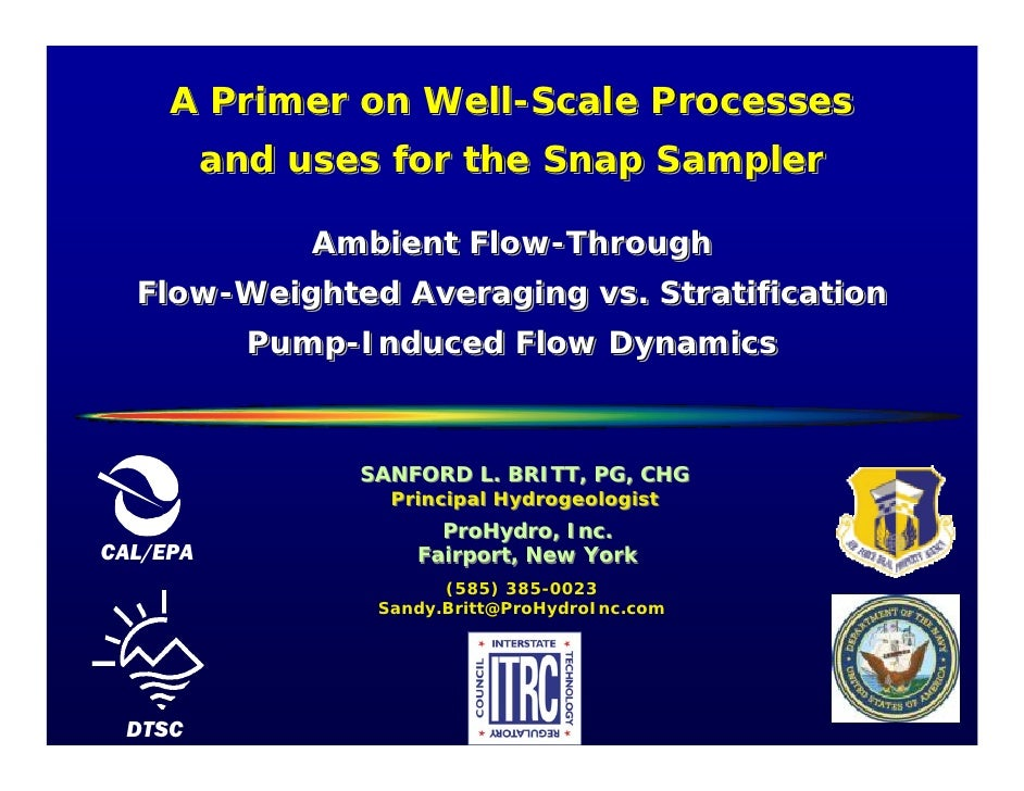 A Primer on Well-Scale Processes                  Well-Scale           and uses for the Snap Sampler                 Ambie...