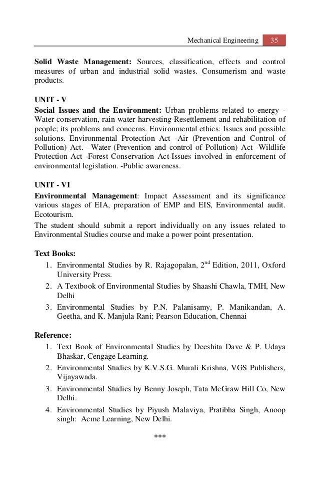 Environmental Studies Benny Joseph Pdf