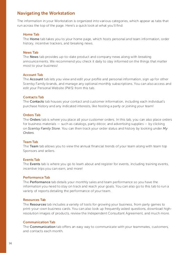 scentsy consultant guide