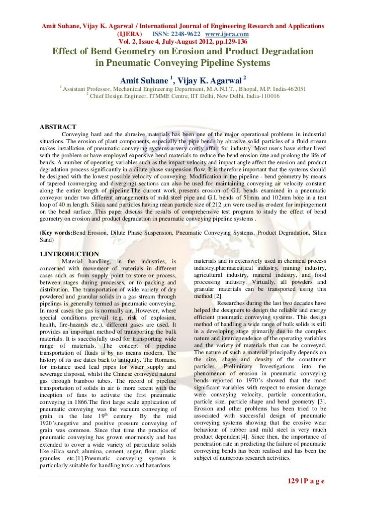 Amit Suhane, Vijay K. Agarwal / International Journal of Engineering Research and Applications                        (IJE...