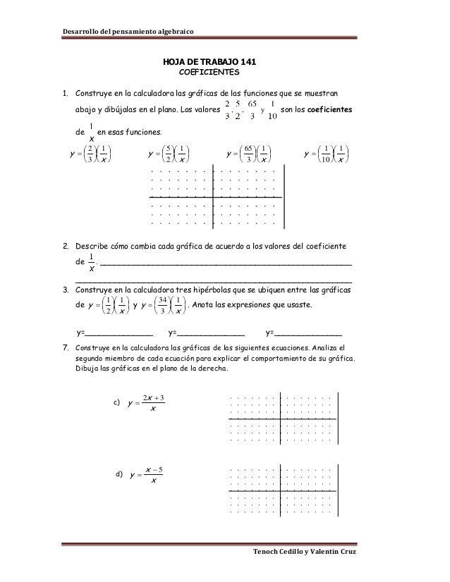 Lujo Ecuaciones Y Desigualdades Racional Hoja De Trabajo Regalo ...