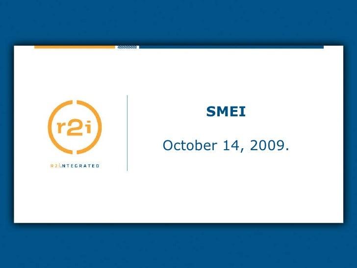 SMEI October 14, 2009.