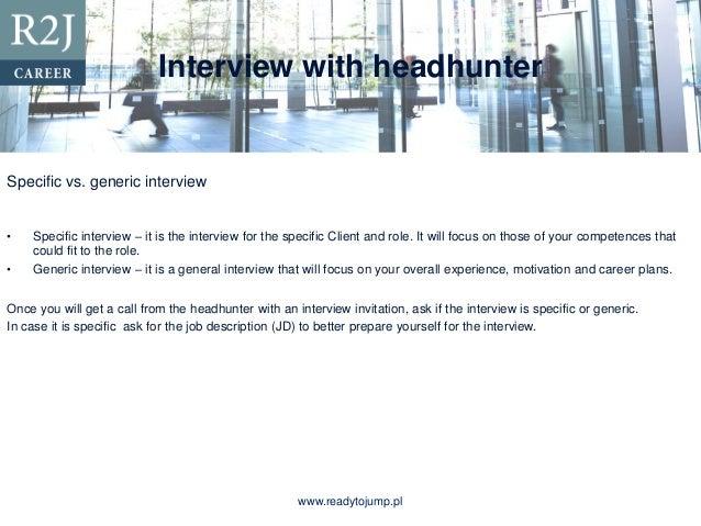 headhunter career