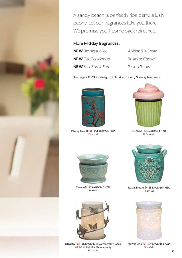 Australia And New Zealand Scentsy Fallwinter 2015 Catalog