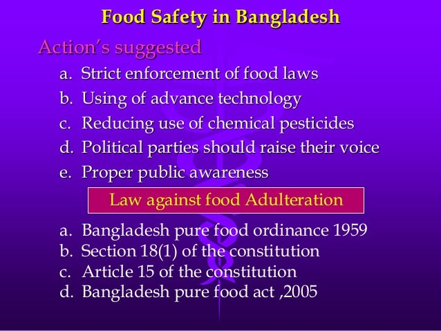 conclusion to food adulteration Use of ftir for rapid authentication and detection of adulteration of food   for detection of potentially harmful adulterants  conclusion.