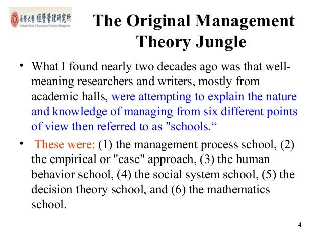 theory of jungle Abstract this paper explores the myriad of pedagogical and andragogical issues facing university educators in the student learning process, and focuses on how the proliferation of learning theories do not all apply to the adult learner.