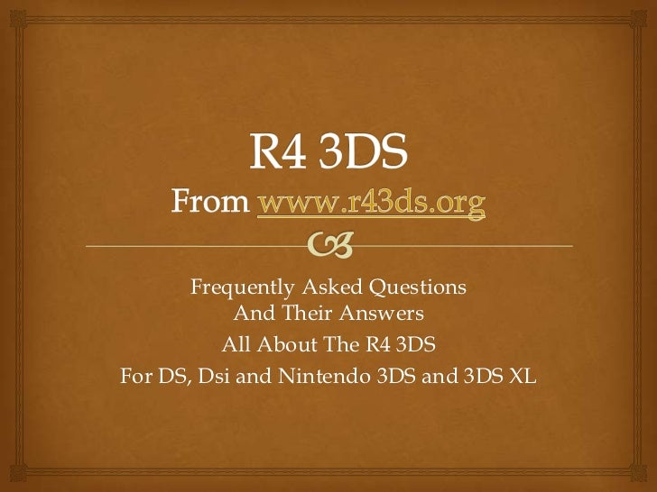 R4 3DS Review