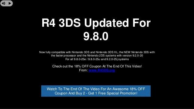 R4 3DS 9 8 0 update