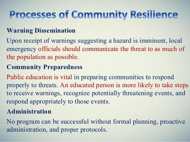 community based disaster management pdf