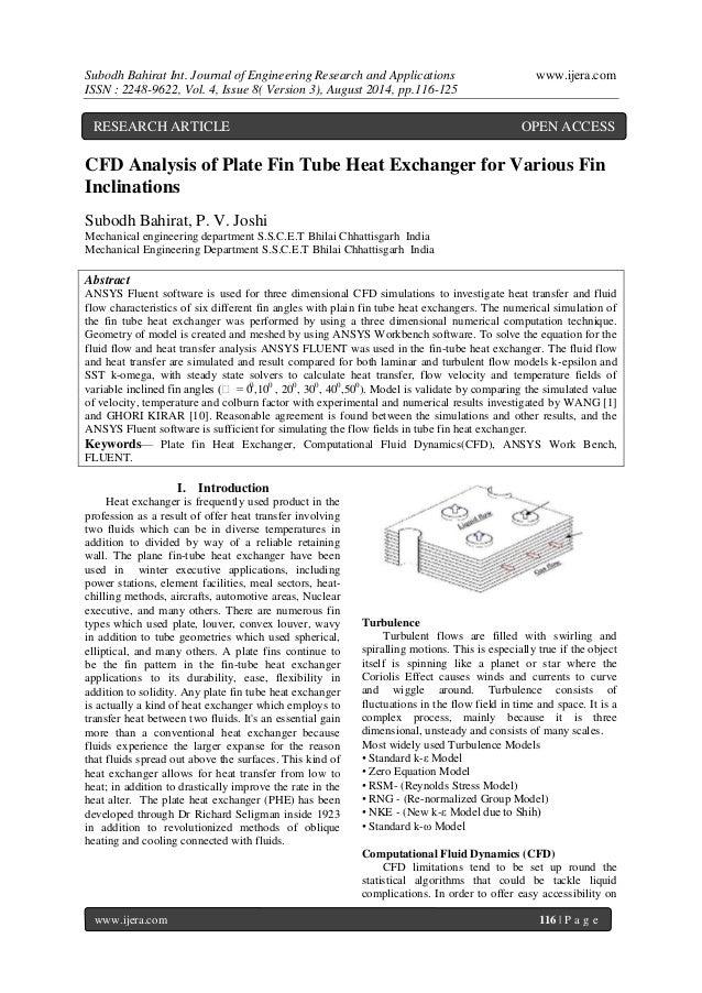 Stock options vs rsu, cfd modelling of heat exchanger, online