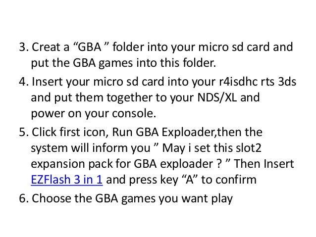 Gba Exploader R4