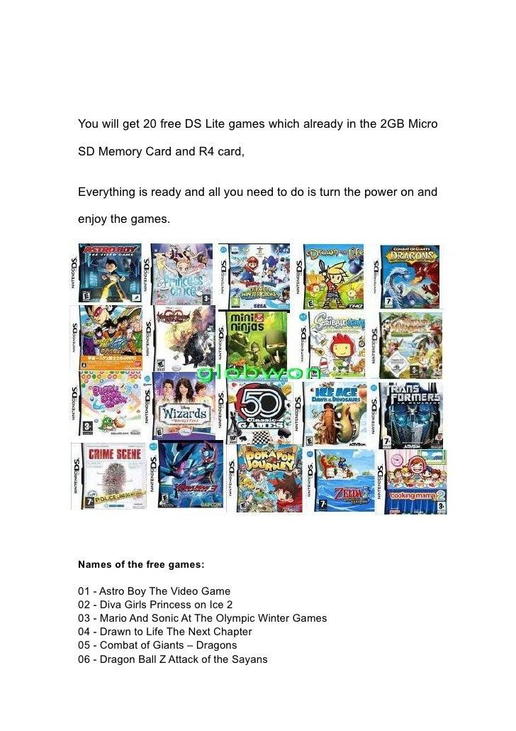 R4 Spiele Download