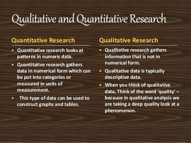 Compare and Contrast Qualitative and Quantitaitve Research Methods Paper