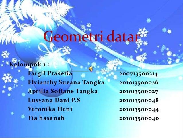 Kelompok 1 :     Fargil Prasetia           200713500214     Elvianthy Suzana Tangka   201013500026     Aprilia Sofiane Tan...