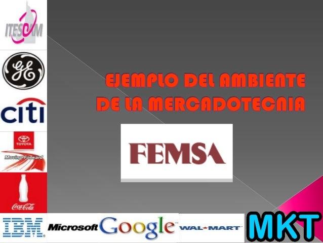  FEMSA opera a través de tresunidades de negocio que sonapoyadas por un área deservicios compartidos que hasido especialm...