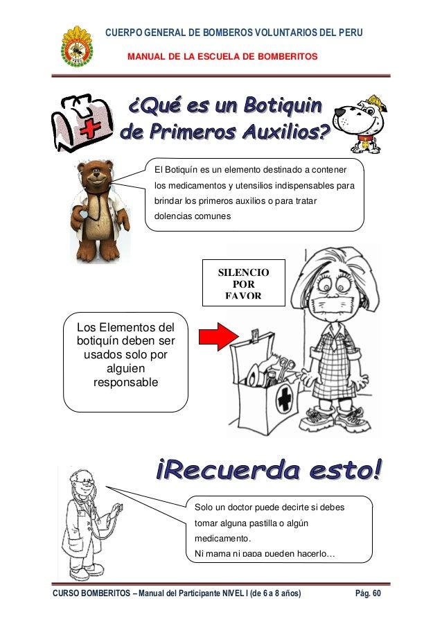 Manual bomberitos 2014 - nivel I (de 6 - 8 años)