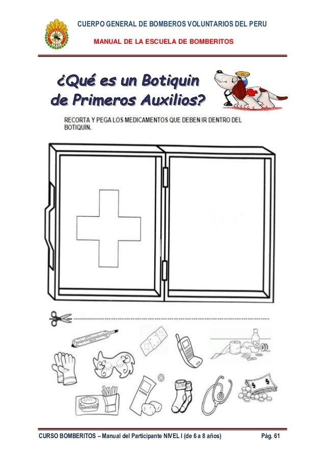 Bonito Primeros Auxilios Para Colorear Imprimibles Motivo - Páginas ...