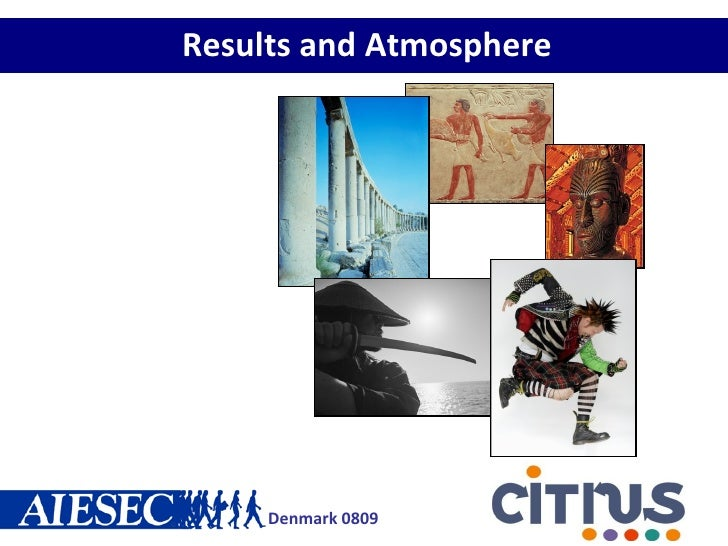 Results and Atmosphere