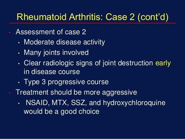 Rheumatoid arthritis case study scribd