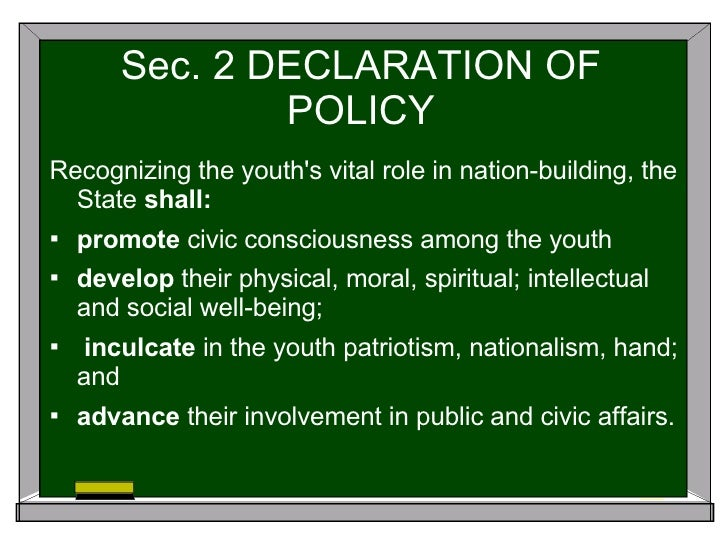 republic act no 9163 nstp loopholes Republic act no 9163 january 23, 2002 an act establishing the  national service training program (nstp) for tertiary level.