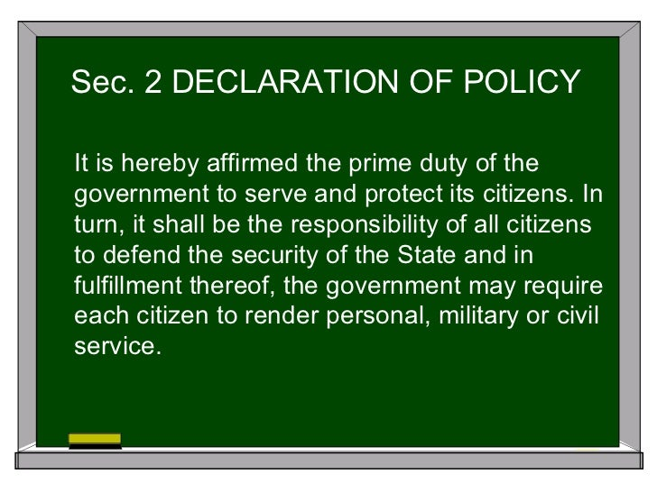 republic act no 9163 nstp loopholes Republic act no 9163 or the law creating the national service training program (nstp).