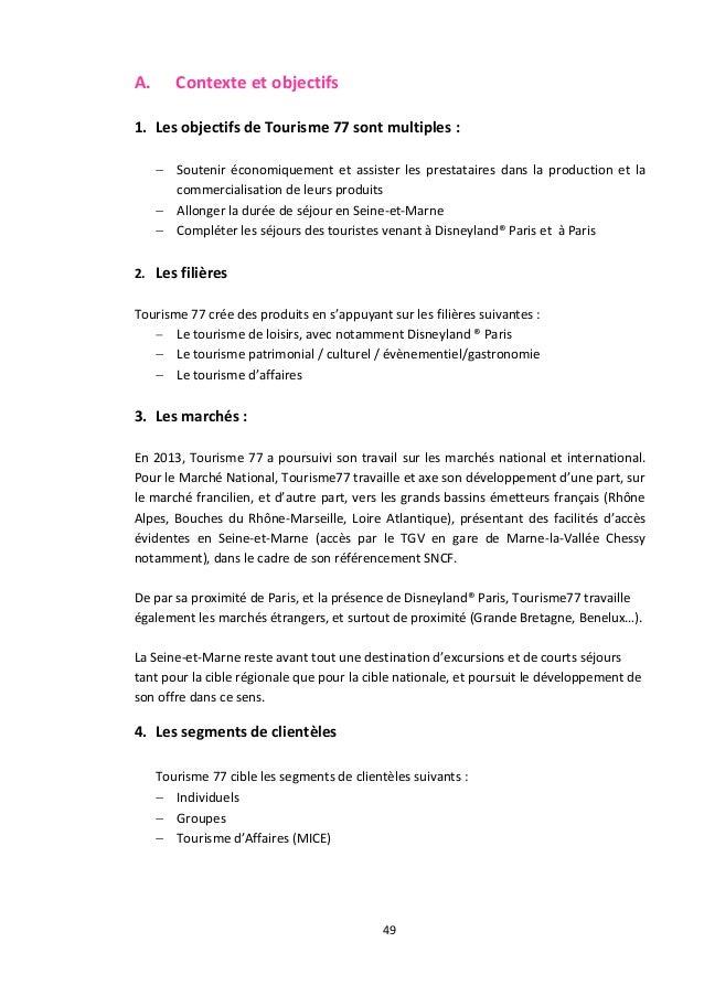 Rapport D Activité Seine Et Marne Tourisme 2014