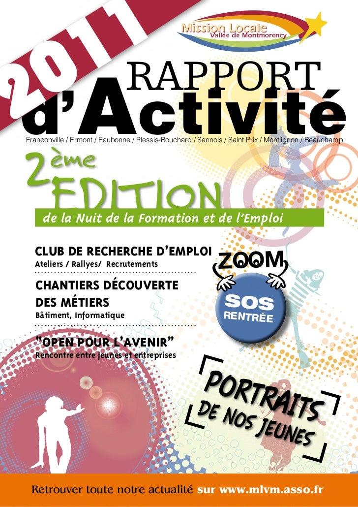 1                  1 RAPPORT2d'  0ActivitéFranconville / Ermont / Eaubonne / Plessis-Bouchard / Sannois / Saint Prix / Mon...