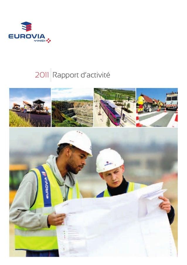 2011 Rapport d'activité