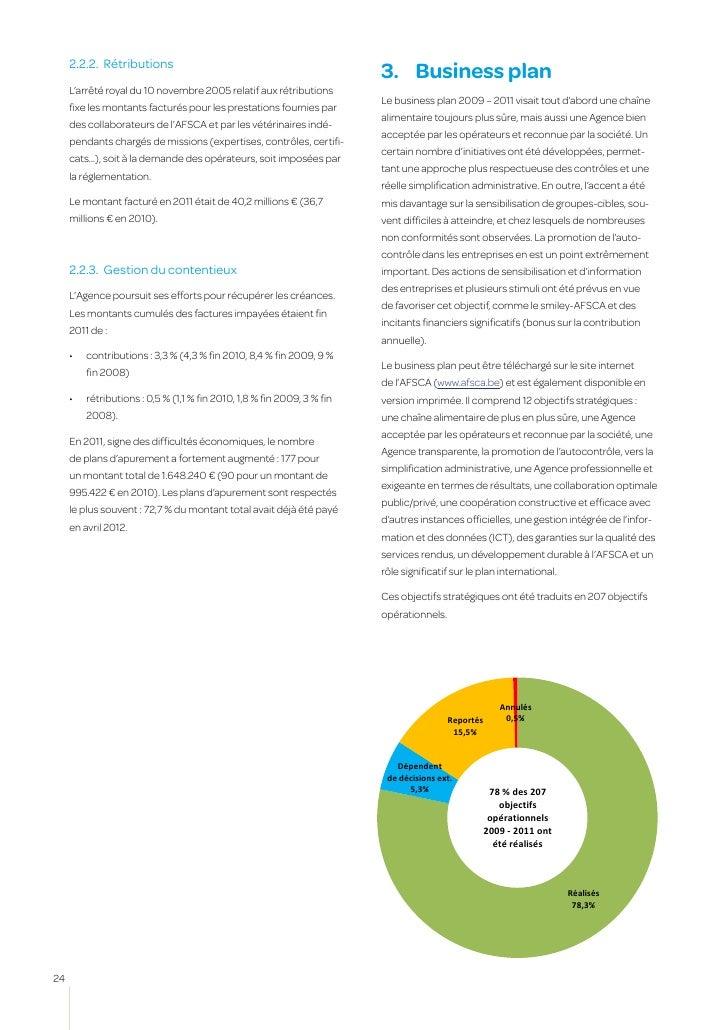 c hapitre 1       l'o rgan i sat i onVoici une liste non exhaustive des objectifs opérationnelsréalisés de 2009 à 2011 : ...