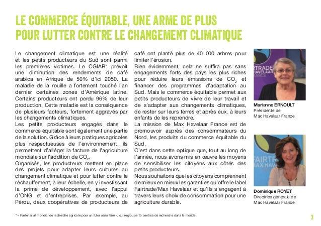 Rapport Annuel Max Havelaar France 2014 2015 Slide 3
