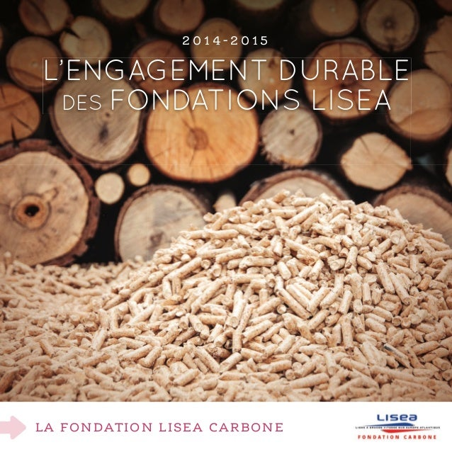 LA FondATIon LISEA CArBonE L'eNGaGeMeNt duraBLe des FoNdatIoNs LIsea 2 0 1 4 - 2 0 1 5
