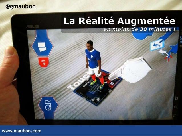www.maubon.com @gmaubon