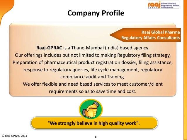 Raaj Global Pharma Regulatory Affairs Consultants Thane