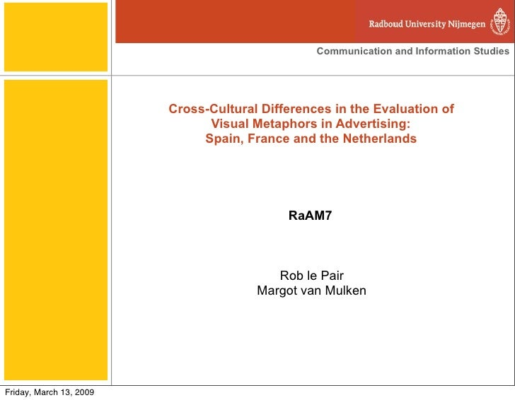 Communication and Information Studies                              Cross-Cultural Differences in the Evaluation of        ...