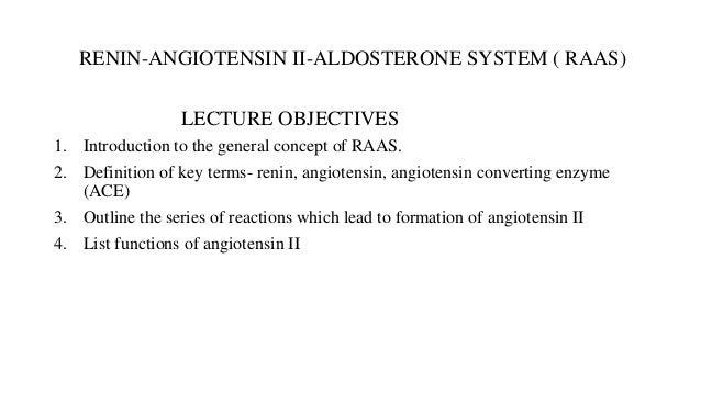 Concept Map Renin Angiotensin Aldosterone Mechanism.Renin Angiotensin Aldosterone System