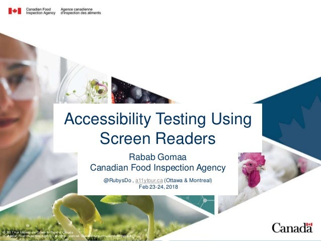 Accessibility Testing Using Screen Readers