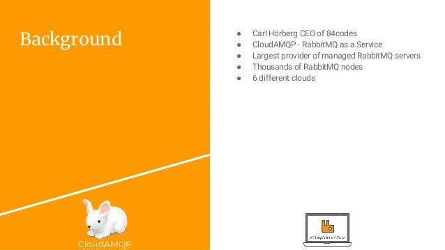 RabbitMQ Best Practice with CloudAMQP