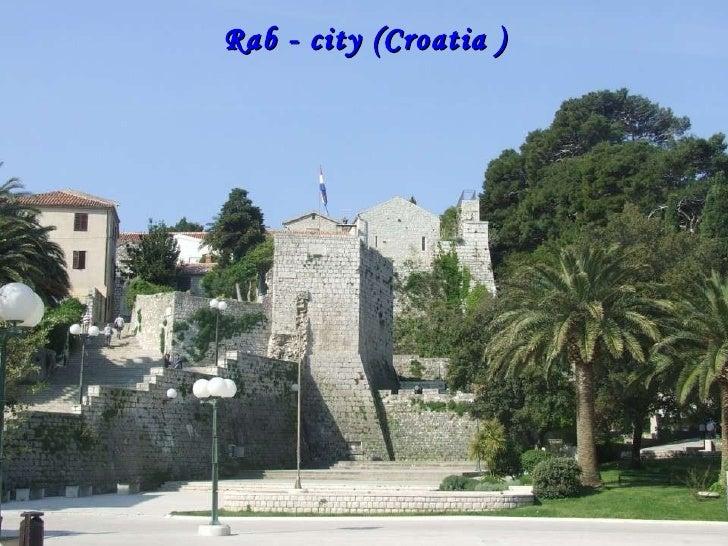 Rab - city (Croatia )