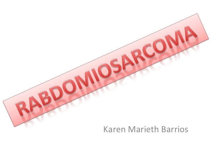 Karen Marieth Barrios
