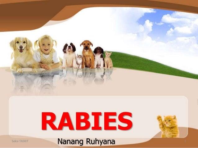 RABIES Nanang RuhyanaSeksi TASKIT 1