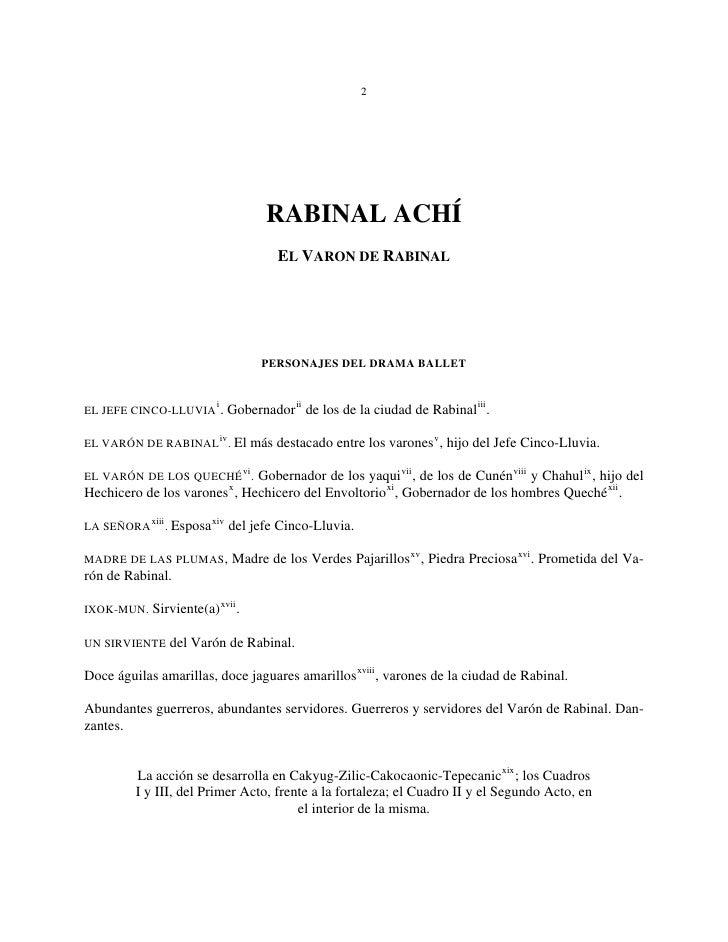 el rabinal achi pdf