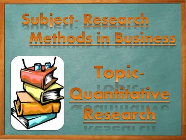 Types Of Quantitative Research: 1)INFERENTIAL RESEARCH:  In inferential observation the researcher must make inferences b...
