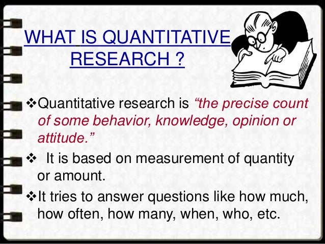 2)EXPERIMENTAL RESEARCH: An attempt by the researcher to maintain control over all factors that may affect the result of ...