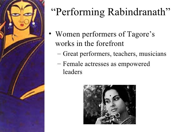 rabindra jayanti From wikipedia : [rabindranath] tagore wrote novels, short stories, songs, dance-dramas, and essays on political and personal topicsgitanjali (song offerings), gora (fair-faced), and ghare-baire (the home and the world) are among his best-known works.